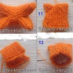 Animaux miniatures tricot