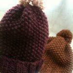 Tricot bonnet aiguille 8