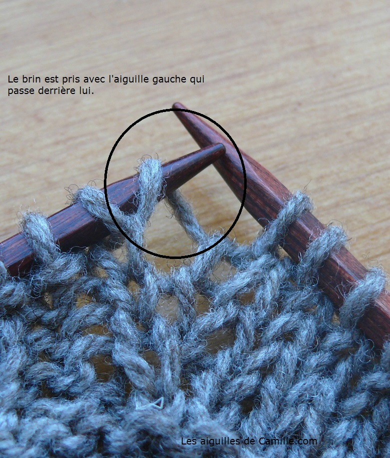 Augmentation tricot bord