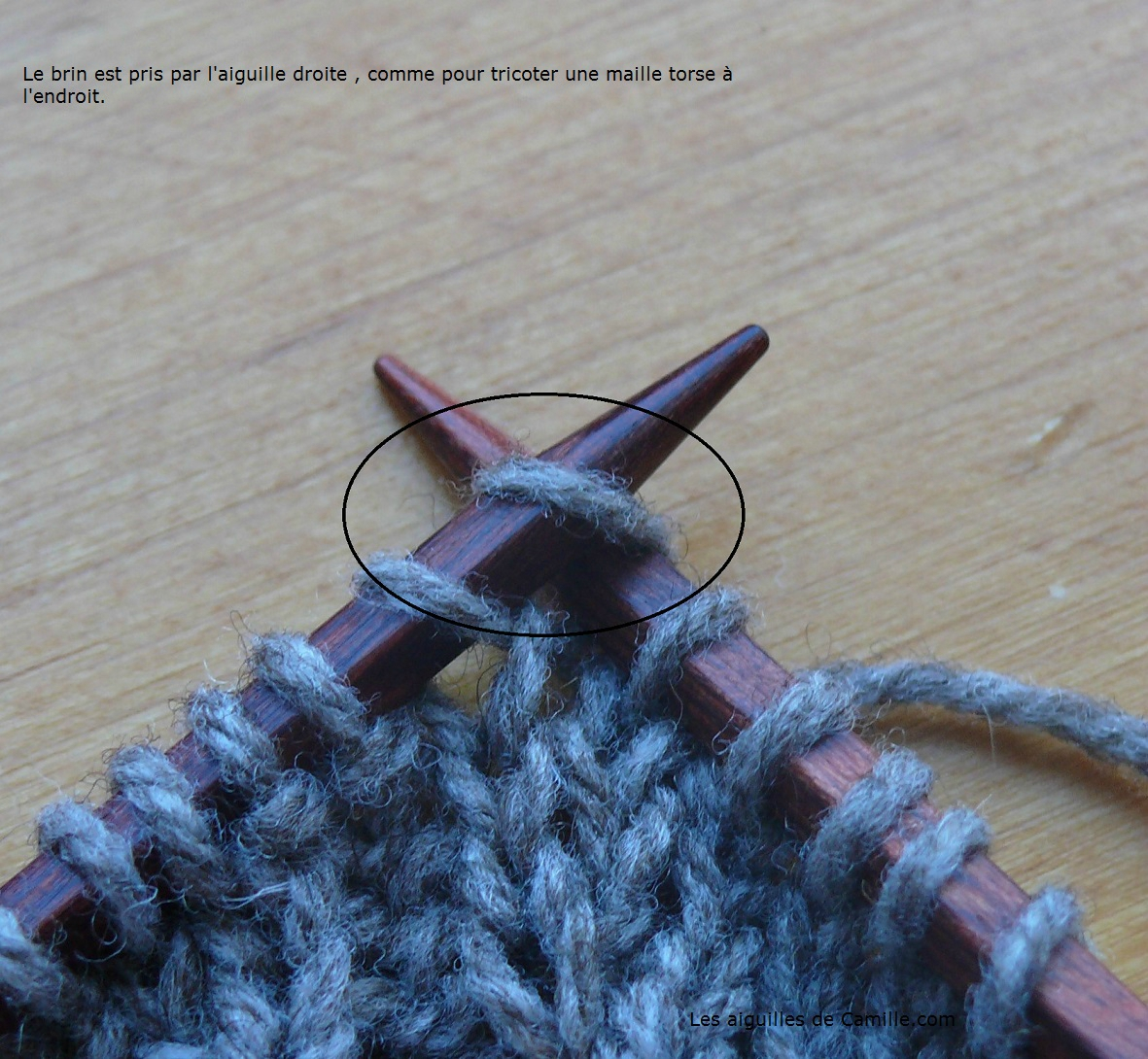 Tricot augmentation triple
