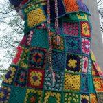 Arbre tricoté liège
