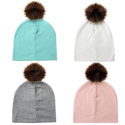 Tricot bonnet bébé coton
