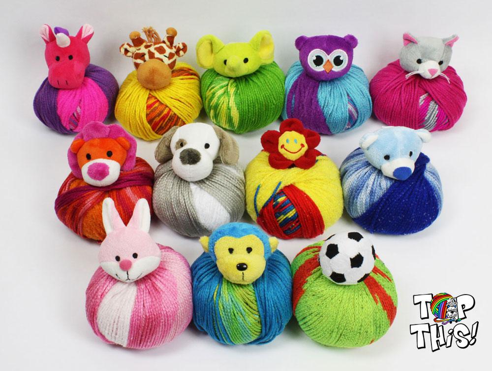 Modele de tricot avec animaux