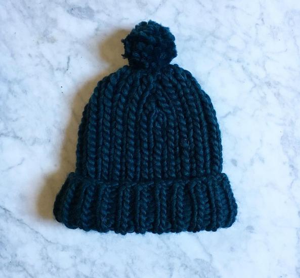 Tuto tricot bonnet femme grosse laine