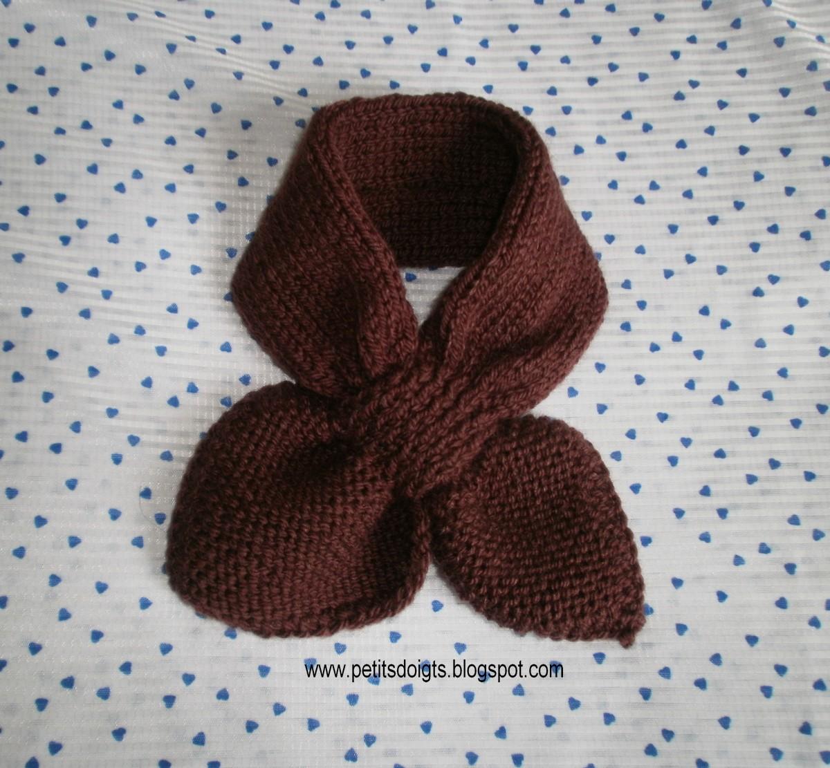 Tricoter echarpe aiguille 5