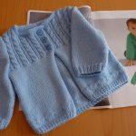 Gilet bébé tricot gratuit facile