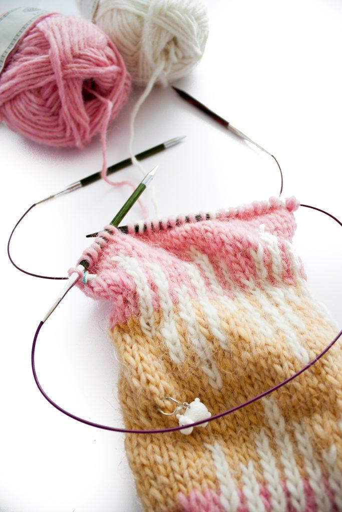 Aiguille tricot utilisation