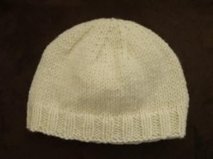 Dimension tricot bonnet bébé