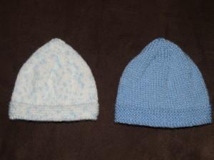Tricot bonnet bébé aiguille 3 5