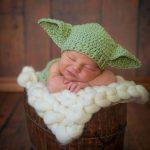 Bonnet yoda bébé tricot