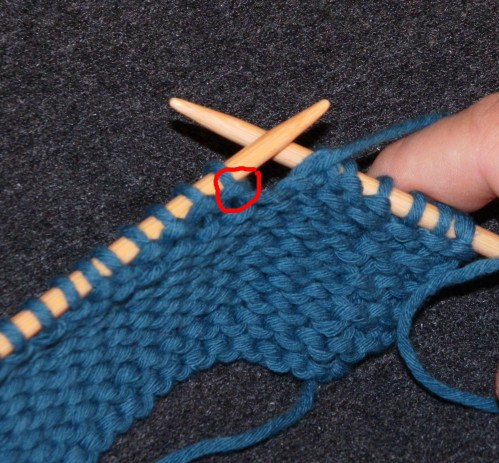 Tricot augmenter mailles video