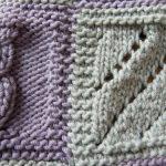 Assemblage de tricot au crochet