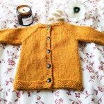 Gilet tricoté en rond