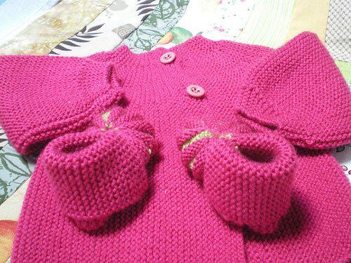 Tuto tricot brassière une pièce