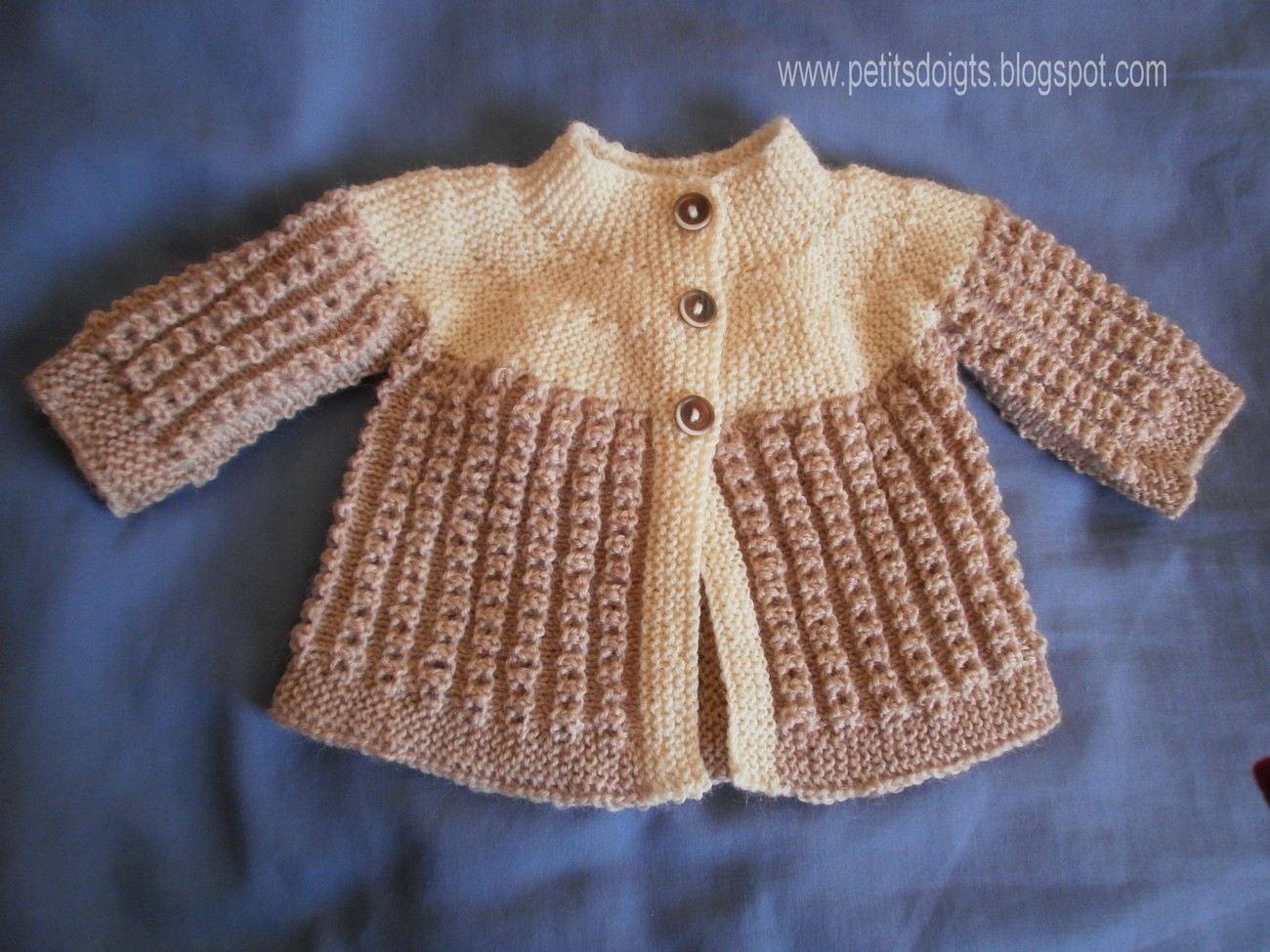 Tricoter brassiere en rangs raccourcis