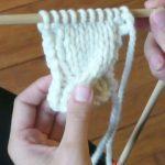 Apprendre le tricot debutant