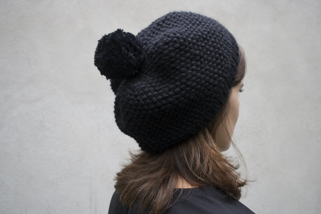 Bonnet femme en tricot