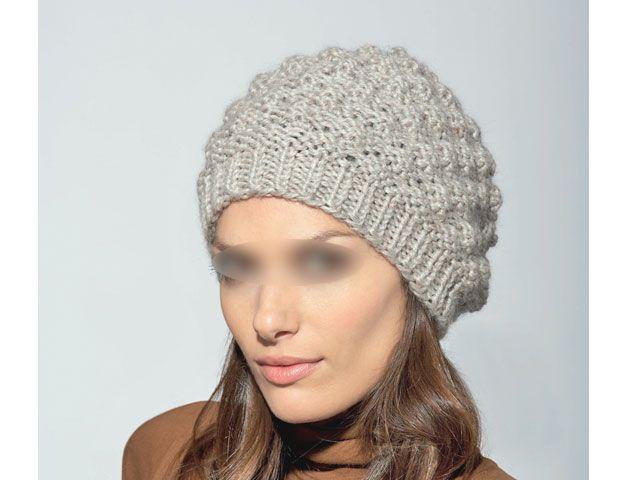 Modele tricot bonnet femme aiguille 7