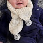 Tricot bonnet echarpe bebe