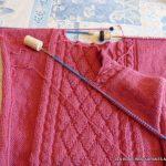 Assembler tricot en tricotant