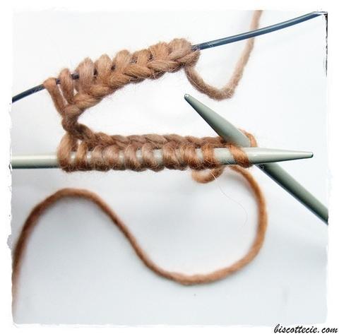 Tricoter en rond sans magic loop