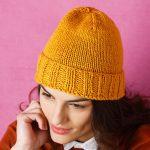 Tricoter bonnet homme sans couture