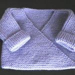 Brassiere bebe en tricot gratuit