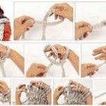 Comment tricoter avec les mains