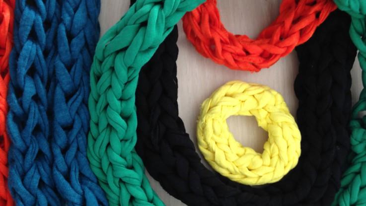 Pinterest tricoter avec les doigts