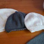 Patron tricot bonnet bébé naissance