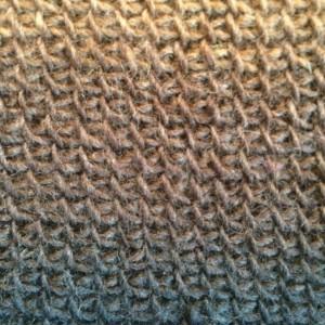 Tricoter en rond au crochet tunisien