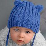 Bonnet bebe tricot layette
