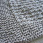 Couverture tricot bébé modele gratuit