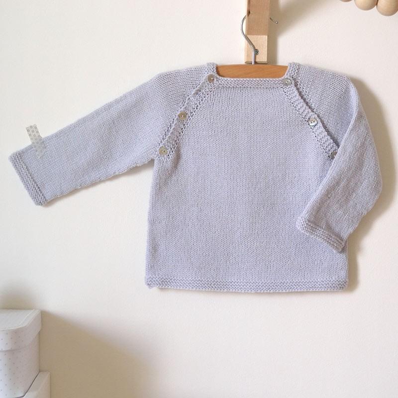 Kit tricot débutant pull