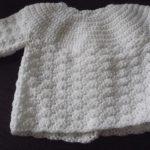 Tricoter brassiere bebe au crochet
