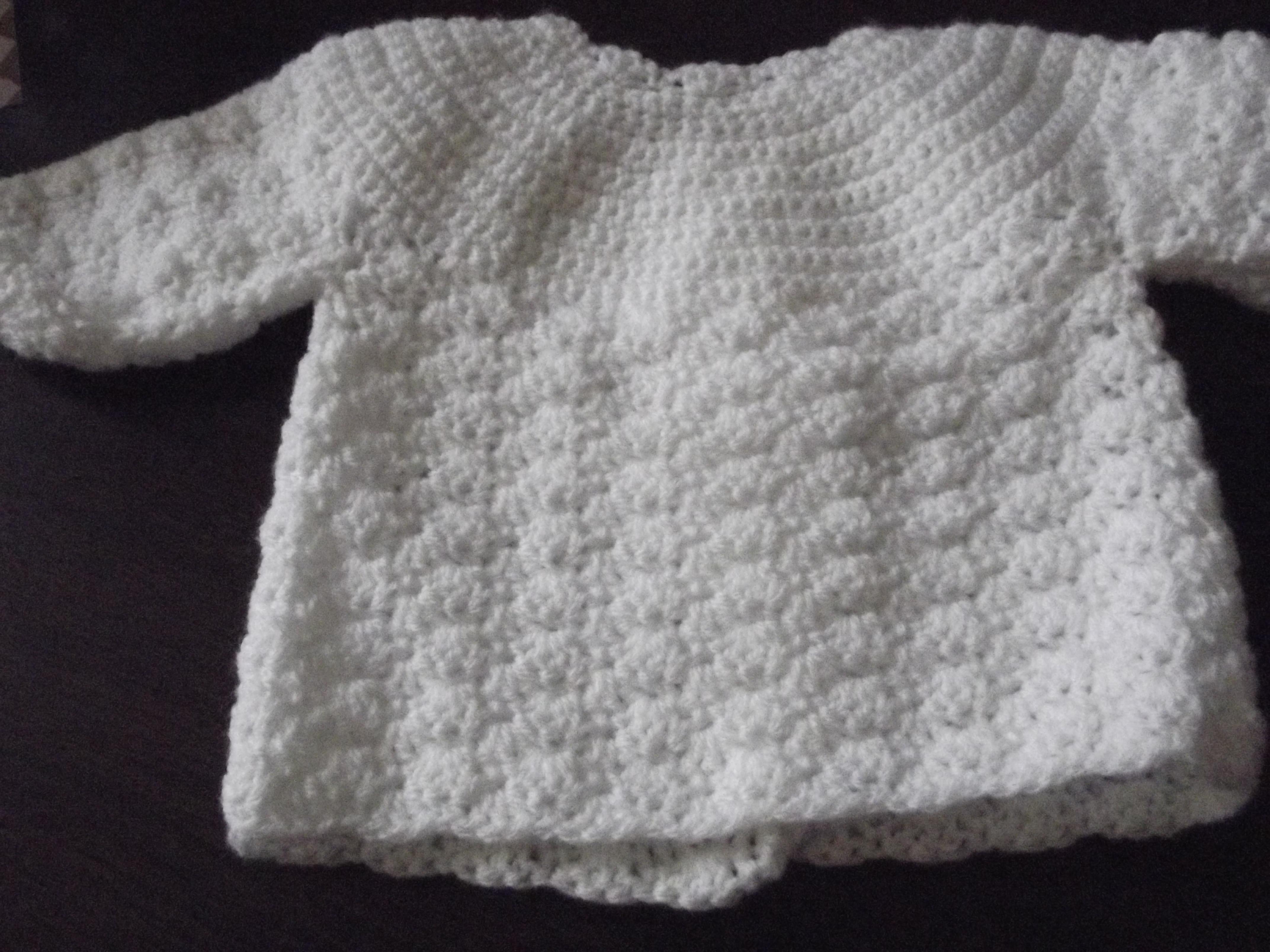 Tuto tricot brassiere nouveau né