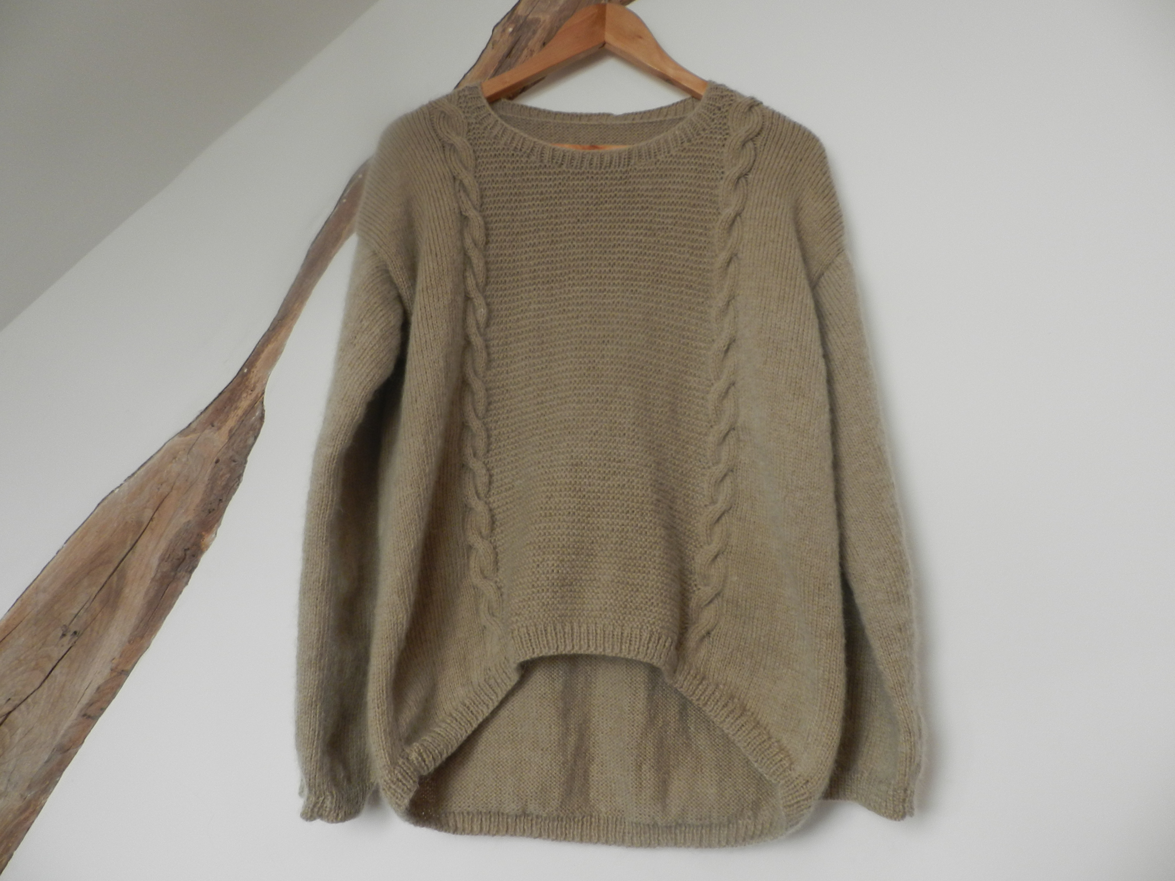 Tricot pull aiguille 4
