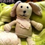 Tricot animaux peluche
