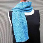 Kit tricot debutant echarpe