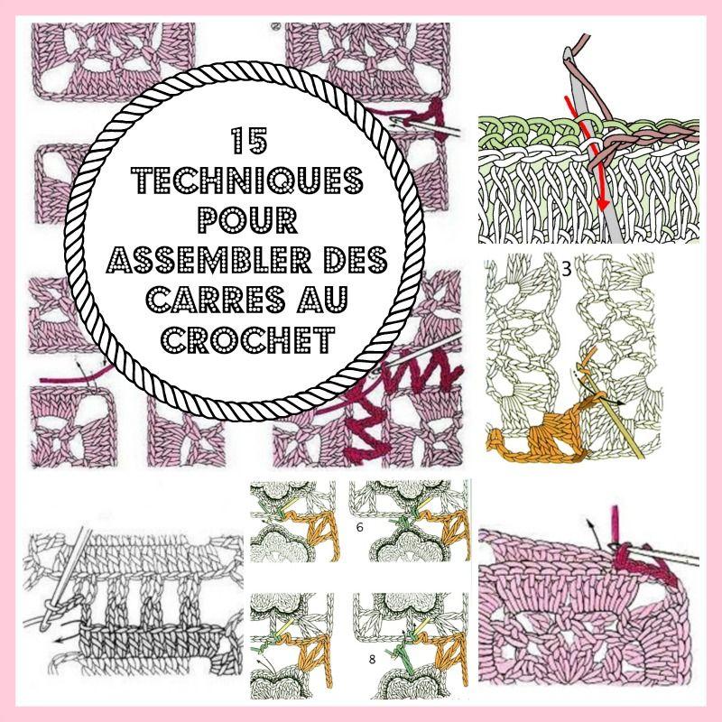 Tricot assemblage crochet