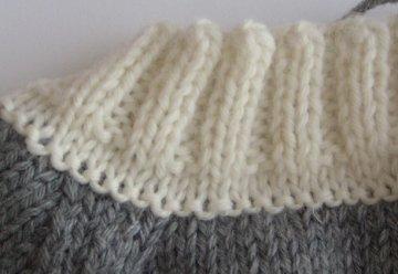 Assembler tricot et tissu