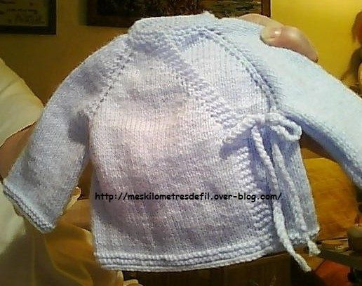 Tricoter une brassière top down