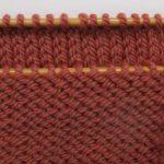 Assemblage tricot 3 aiguilles