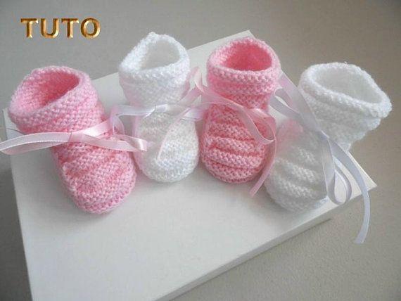 Tricot bébé gratuit télécharger chausson