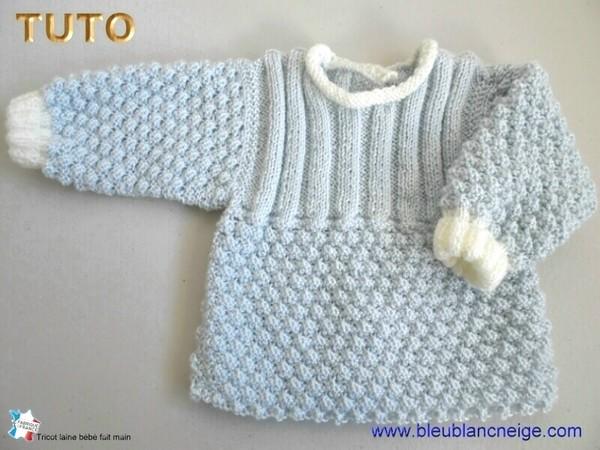 Modèle tricot bébé gratuit télécharger