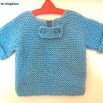 Modèle brassière tricot d'une seule pièce gratuit