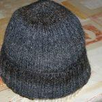 Tuto tricot bonnet homme cote 2/2
