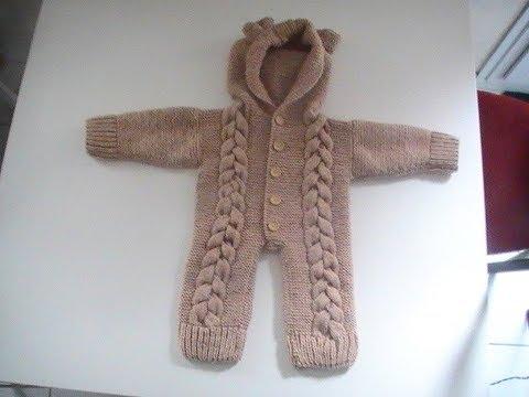 Combinaison tricot bebe gratuit