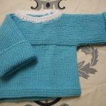 Tuto tricot brassiere bebe naissance