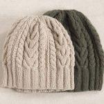 Modèle tricot bonnet torsade femme gratuit